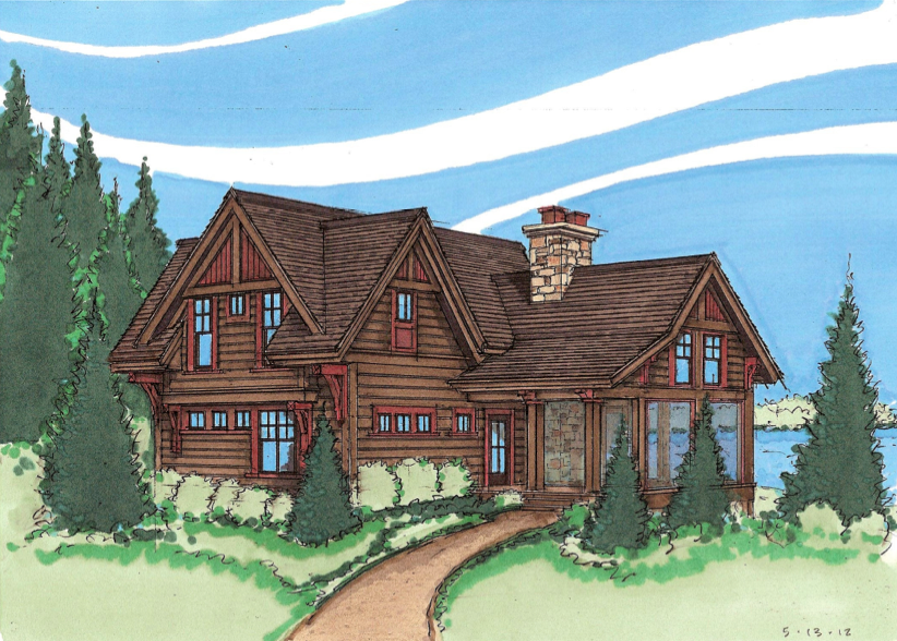 Timber Frame House Plans Mn House Style Ideas