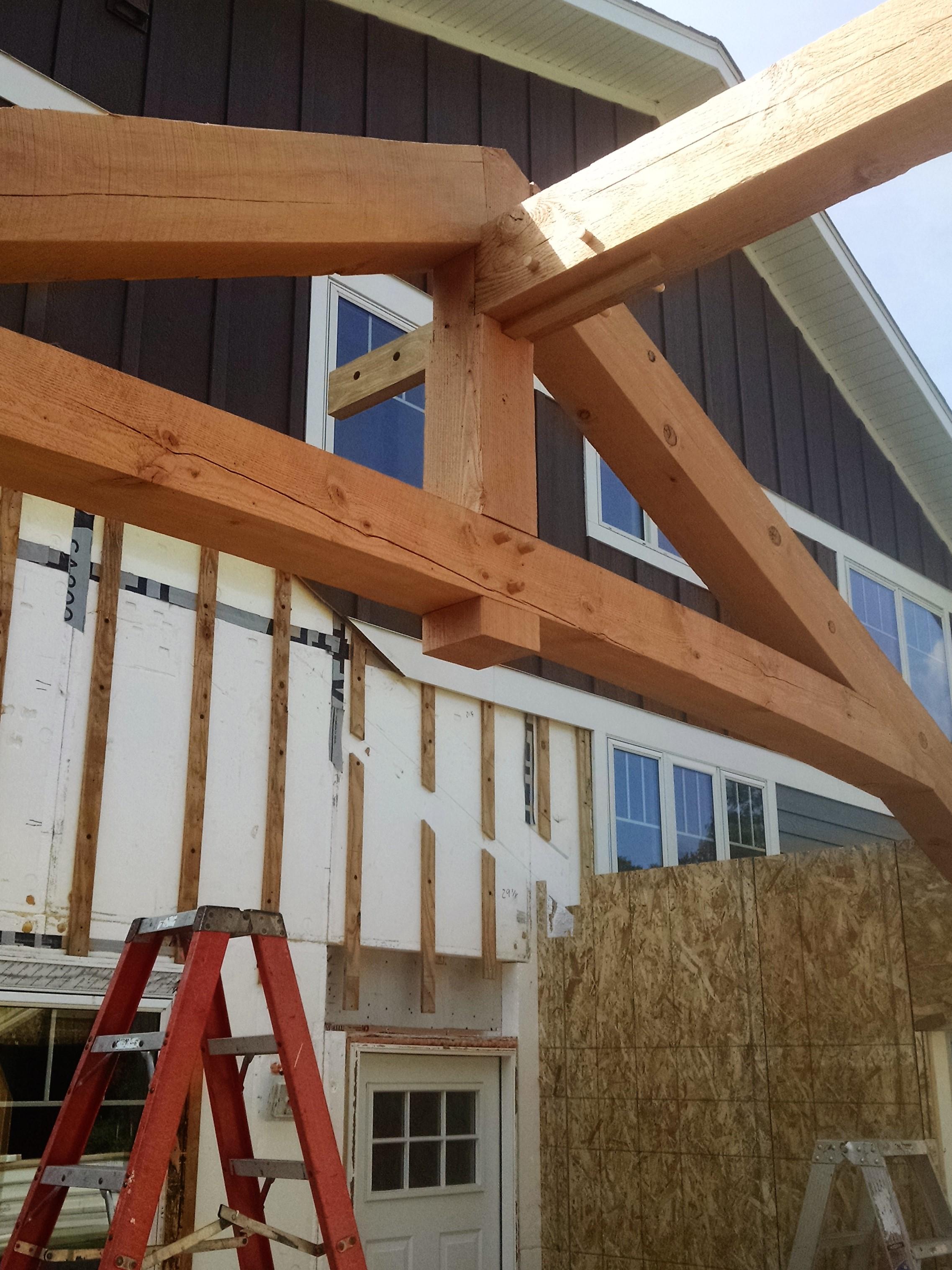 North Dakota Timber Addition Blue Ox Timber Frames